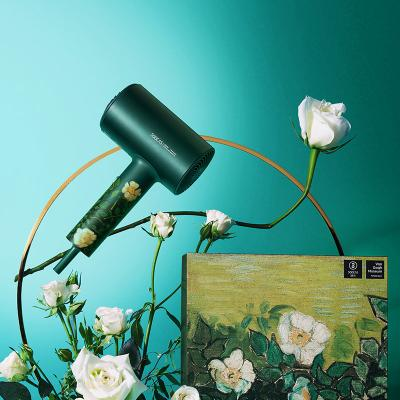素士H5负离子电吹风绿野玫瑰